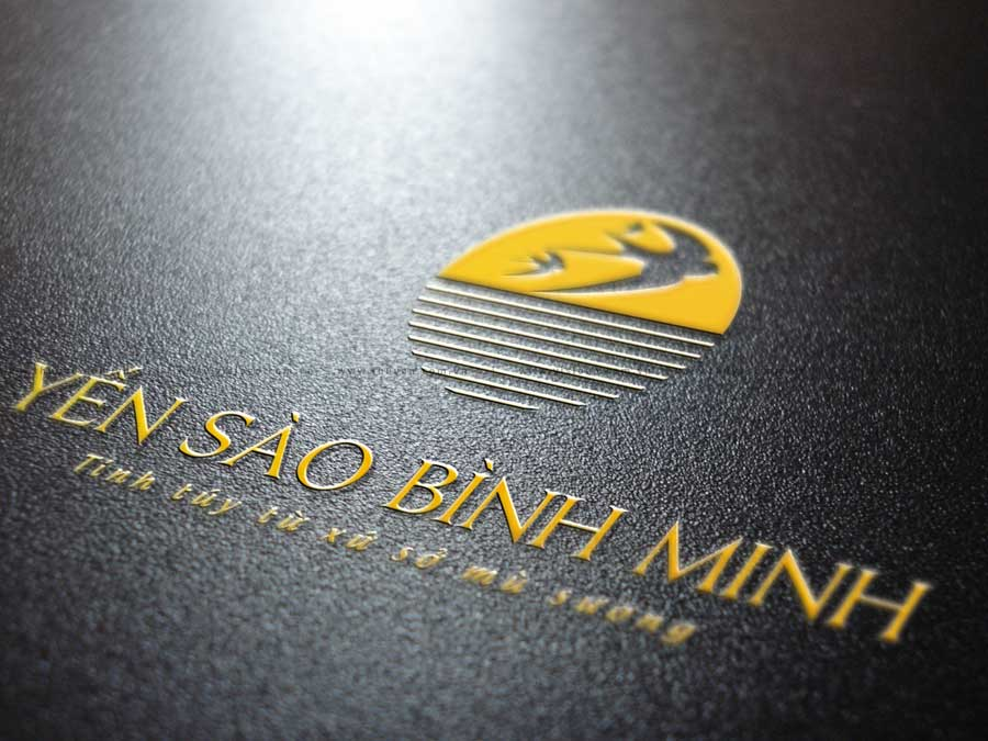Logo yến sào Bình Minh