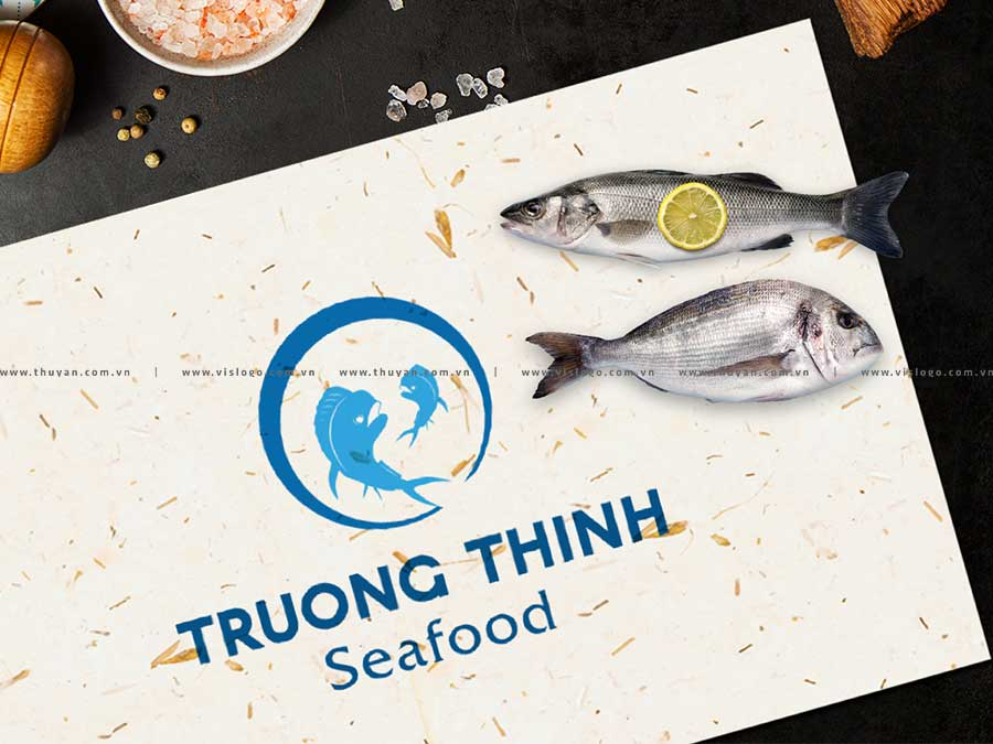 Thiết kế logo - TRUONG THINH SEAFOOD